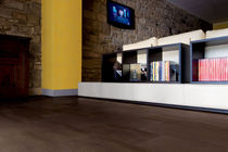 porcelain stoneware floor tile: wood look ZEN : WENGE Emilceramica S.p.A.