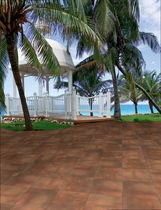 porcelain stoneware tile for exterior floors GOSOL TAU Cerámica