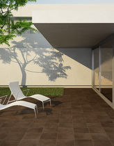 porcelain stoneware tile for exterior floors CÁRTAGO UNDEFASA