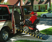 portable access ramp ROLL UP Handi-Ramp