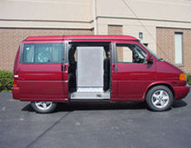 portable access ramp VAN Handi-Ramp