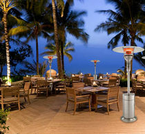 portable patio heater SERIES GA021: E201PMS3 IR Energy Inc.