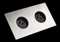power socket with metal finishing 5.1 STAINLESS STEEL FONT BARCELONA
