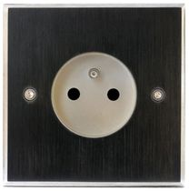 power socket with metal finishing 0388BR 6ixtes PARIS