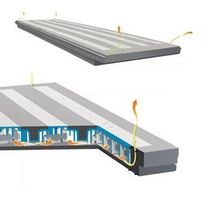 precast reinforced concrete deck slab (insulated) ECO VENTILATO Styl-Comp