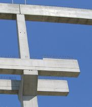 precast reinforced concrete rectangular beam  Mabo Prefabbricati