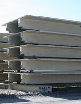 precast reinforced concrete slab CARBONCAST® DOUBLE TEE High Concrete