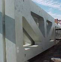 precast reinforced concrete wall (for wind bracing) K-WALL High Concrete