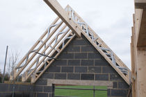 precast wood and metal lattice girder EASI-JOISTS® WOLFSYSTEM