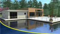 prefab ecological floating house LE NADIA BATIFLO