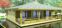 prefab ecological floating house LA LOUISIANE2 BATIFLO