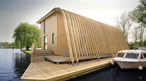 prefab ecological floating house  Accsys Technologies
