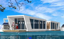 prefab ecological floating house  delimarina
