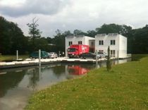 prefab floating building for car parks  BATIFLO