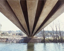 prestressed concrete beam (for bridge)  Ronveaux Bâtiment