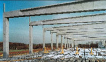 prestressed concrete double tee roof slab TOIDAL Ronveaux Bâtiment