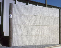 prestressed concrete insulated facade panel  Ronveaux Bâtiment