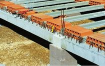 prestressed concrete rectangular beam SPECIALE IMERYS Structure
