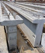 prestressed concrete T beam JKR PRT Prestasi Concrete Sdn Bhd