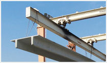 prestressed concrete T beam  Hanson structural porecast