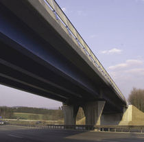prestressed concrete U beam (for bridge)  Max B&ouml;gl
