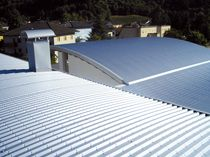 profiled steel roofing sheet ALUBEL 28 Alubel