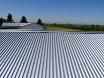 profiled steel roofing sheet ALUBEL 21 Alubel