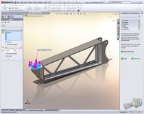 project simulation software SIMULATIONXPRESS Dassault Systèmes SolidWorks Corp