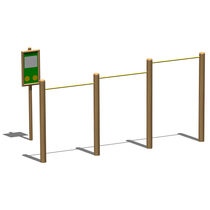 pull-up bar for playground ART. 011307 LEGNOLANDIA