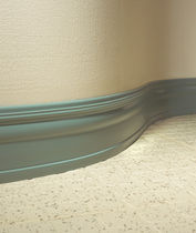 PVC baseboard (FloorScore® certified, low VOC emissions) VISUELLÉ® Roppe Corporation