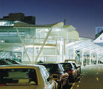 PVC coated polyester fabric (for tensile structures) AUKLAND INTERNATIONAL AIRPORT Shelter-Rite