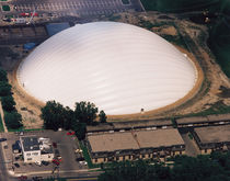 PVC coated polyester fabric (for air-supported structures) RICE & ARLINGTON SPORTS DOME Shelter-Rite