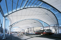 PVC coated polyester fabric (for tensile structures) URBAN LORITZ PLATZ Hightex