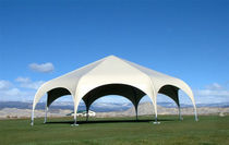 PVC coated polyester fabric (for tensile structures) HIGH-POINT® 24 Plastatech® Engineering, Ltd.
