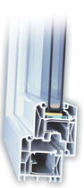 PVC double glazed casement window INNONOVA 70.A5 CLASSIC Trocal
