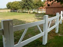 PVC entrance gate FARMER 2 GATE Top Fence