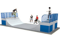 quarter pipe for skatepark RP770  Record RSS