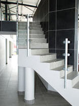 quarter-turn masonry staircase  QUICK-STEP Instant Staircases