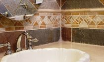 quartzite stone tile BORDERS American Slate