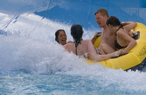 rafting slide for aquatic-parks PYTHON™ WhiteWater West Industries Ltd.