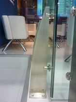 railing with glass panels AILERON DE REQUIN SADEV