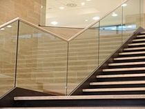 railing with glass panels  S.T. VETRERIA SOMBRA DO SOL TM