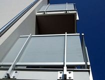 railing with glass panels LA PESCHIERA ALUSCALAE