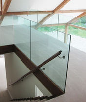 railing with glass panels HERTFORDSHIRE Flight Design