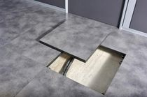 raised access floor panel in linoleum finish  DINOR