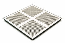raised access floor panel in perforated steel PERFORATED PANEL Tate Access Floors