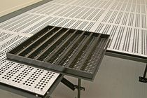 raised access floor panel in perforated steel TYP 3 MERO-TSK