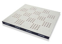 raised access floor panel in perforated steel  Jindao Floors, Inc.