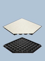 raised access floor panel in PVC finish  Jindao Floors, Inc.