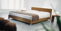 rattan double bed for hotel rooms NET 80 by Paola Navone GERVASONI - Contract Division